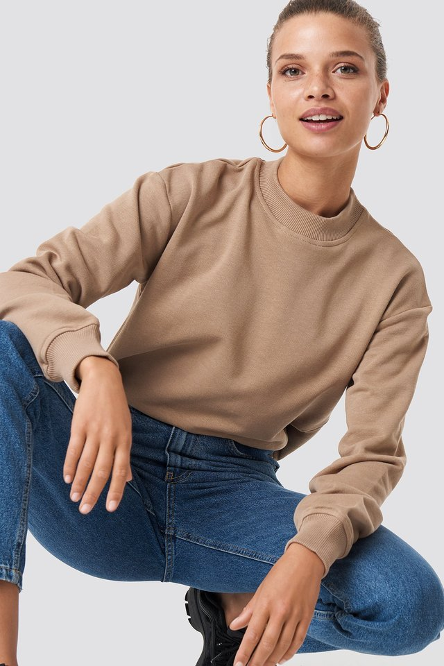 Basic Sweater Mauve
