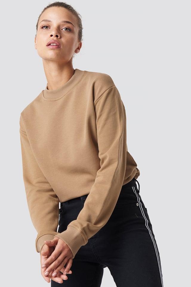 Basic Sweater Dark Beige