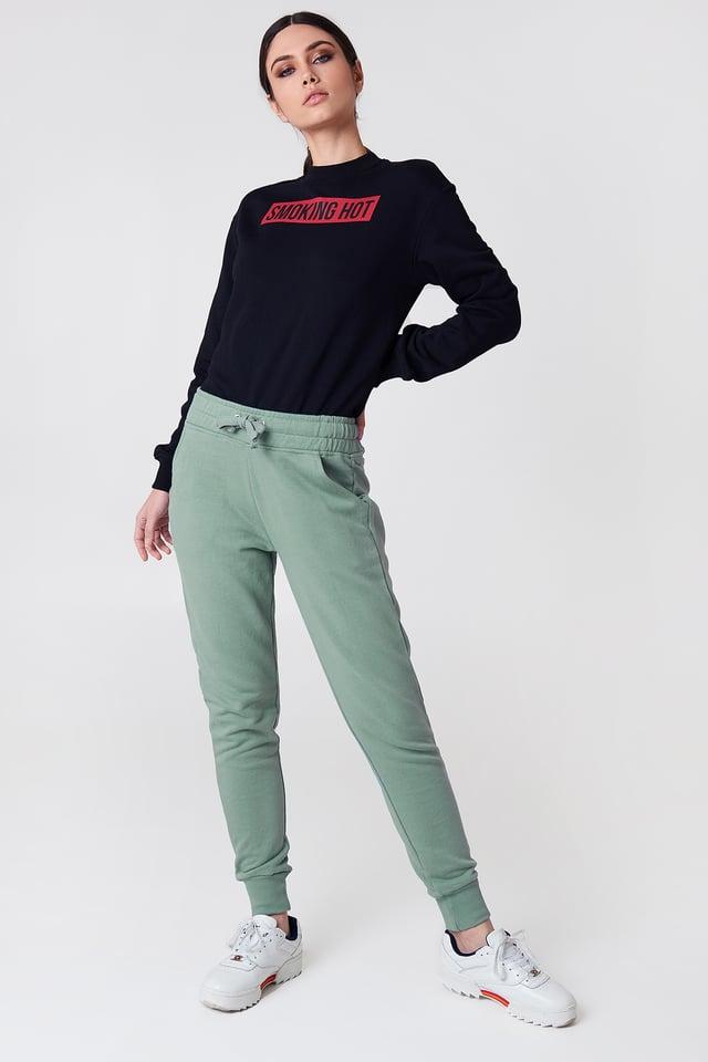 Basic Sweatpants Duck Green