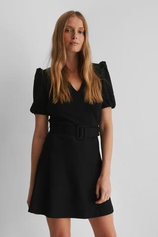 Black Bea Mini Dress