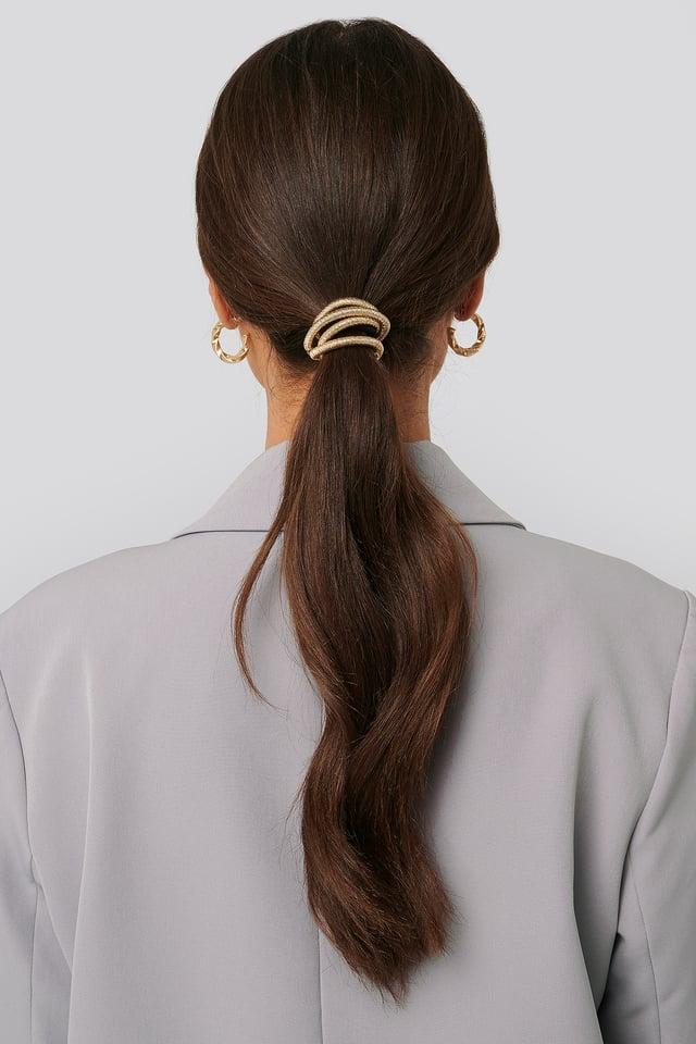 Bend Hair Detailing Gold