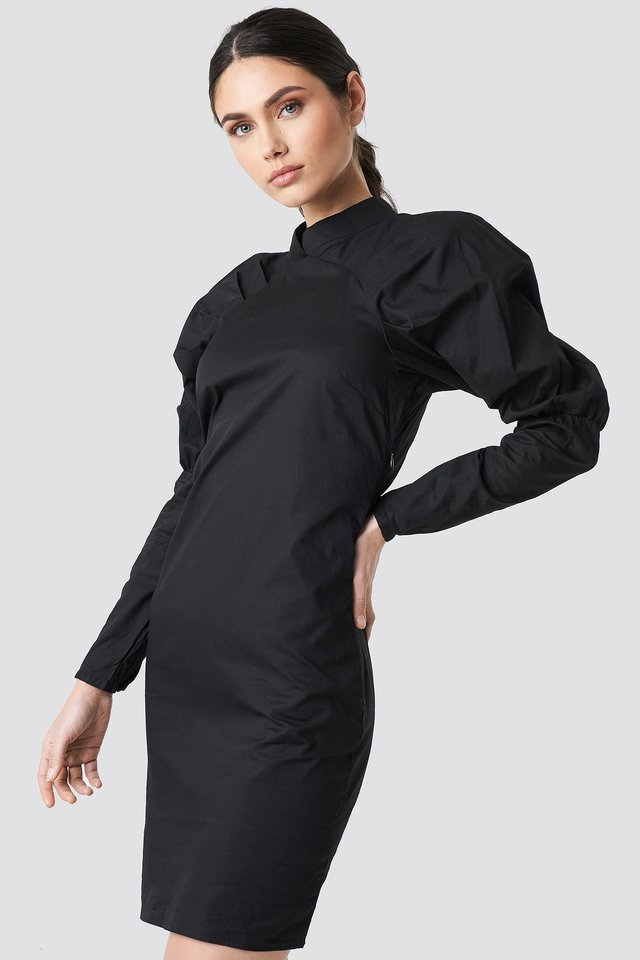 Big Puff Sleeve Dress NA-KD Trend