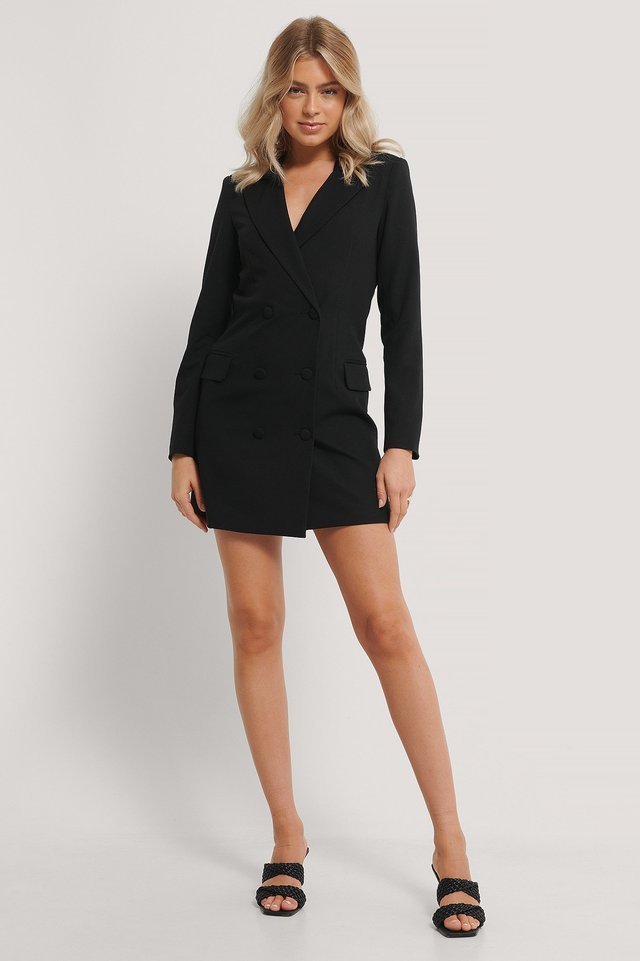 Blazer Dress Black