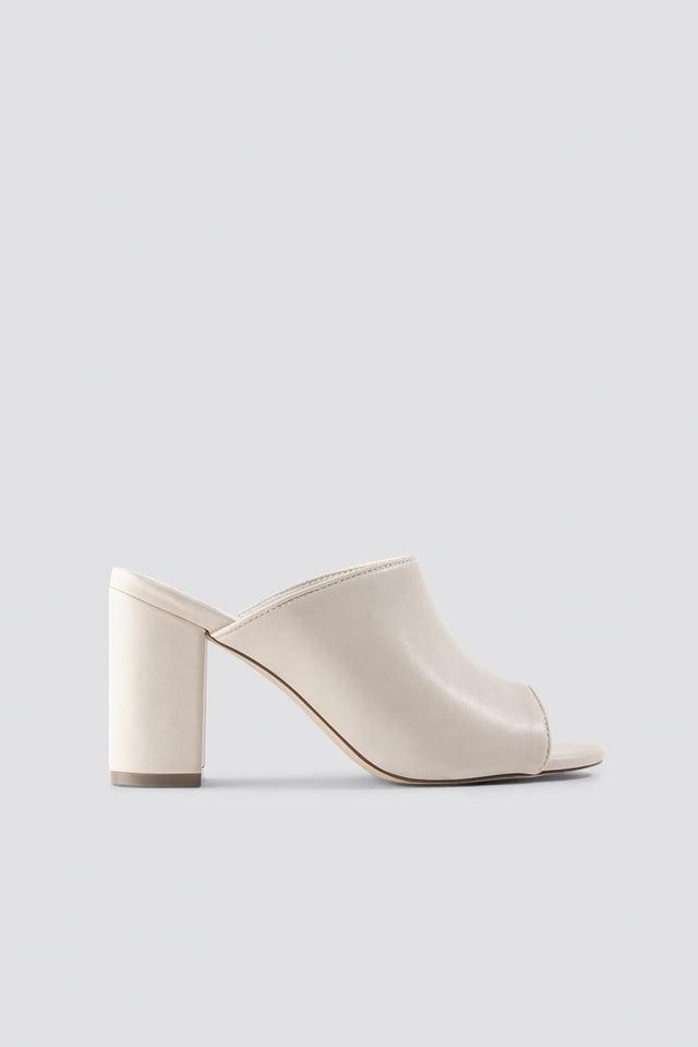 Block Heel Mules NA-KD Shoes