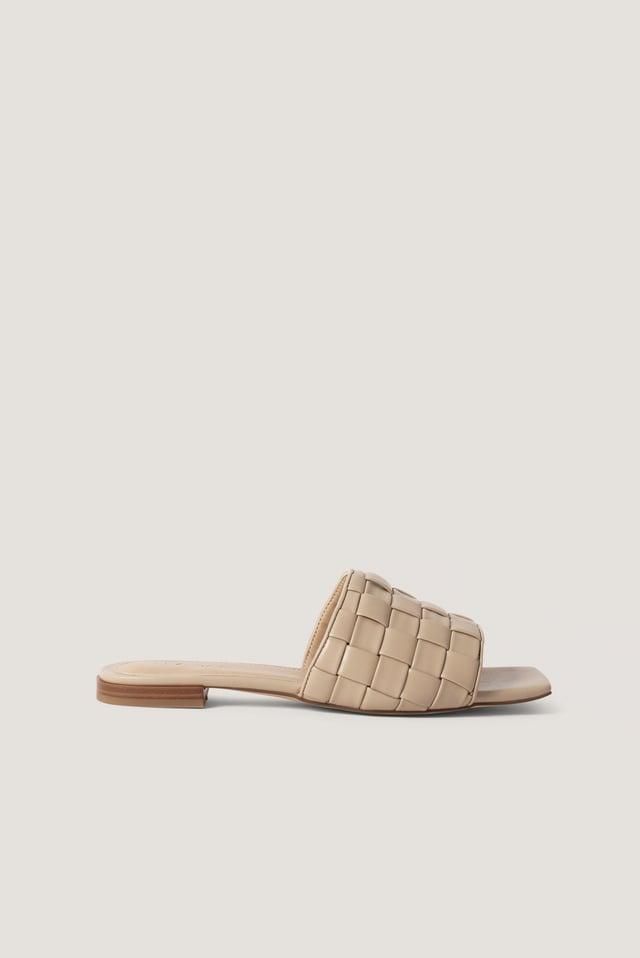 Braided Flats NA-KD Shoes