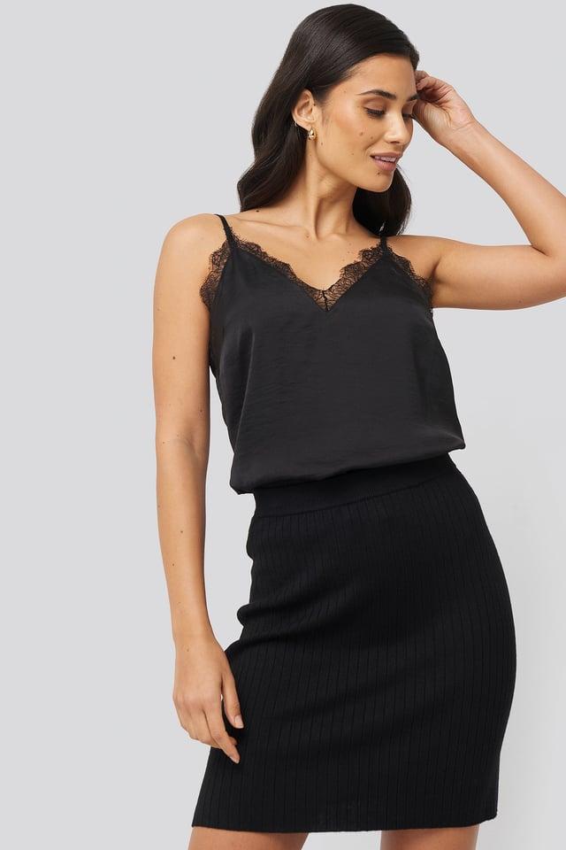Monaco Skirt Black