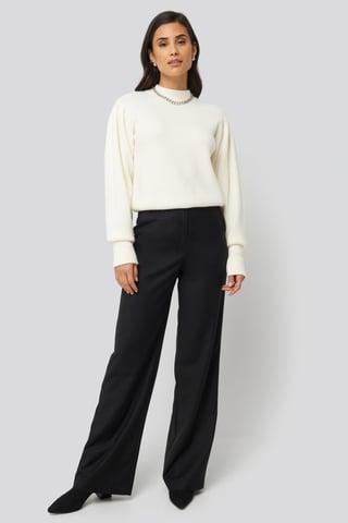 Black Prague Pants