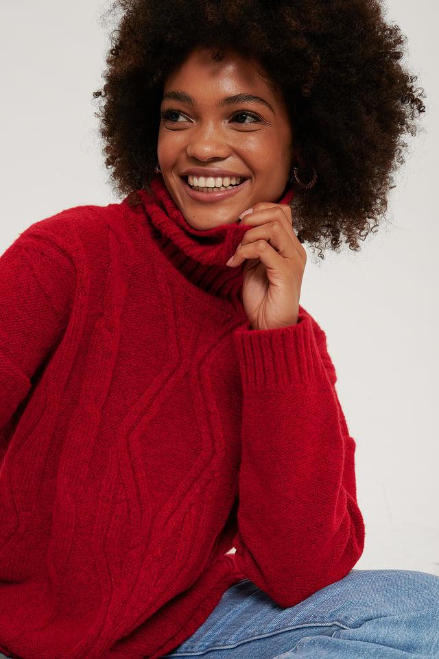 Red Striktrøje