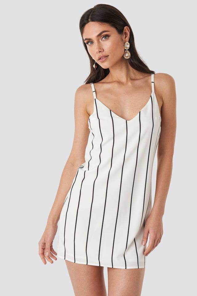 Cami Shift Dress Stripe