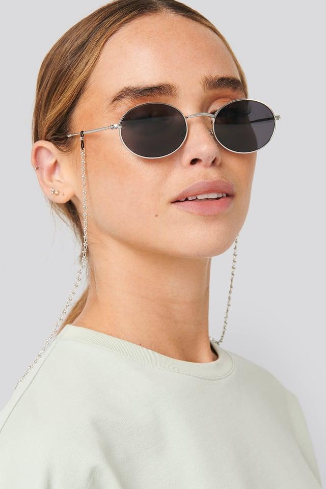 Chain Sunglass Chain Silver