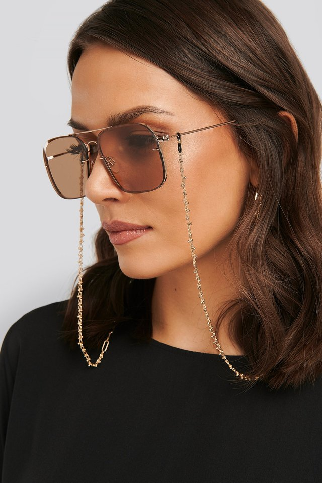 Chain Sunglass Chain Gold