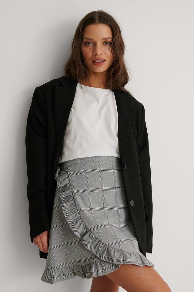 Checkered Nederdel
