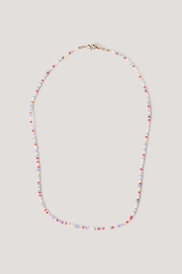 Colorful Pearl Mask Chain Multi