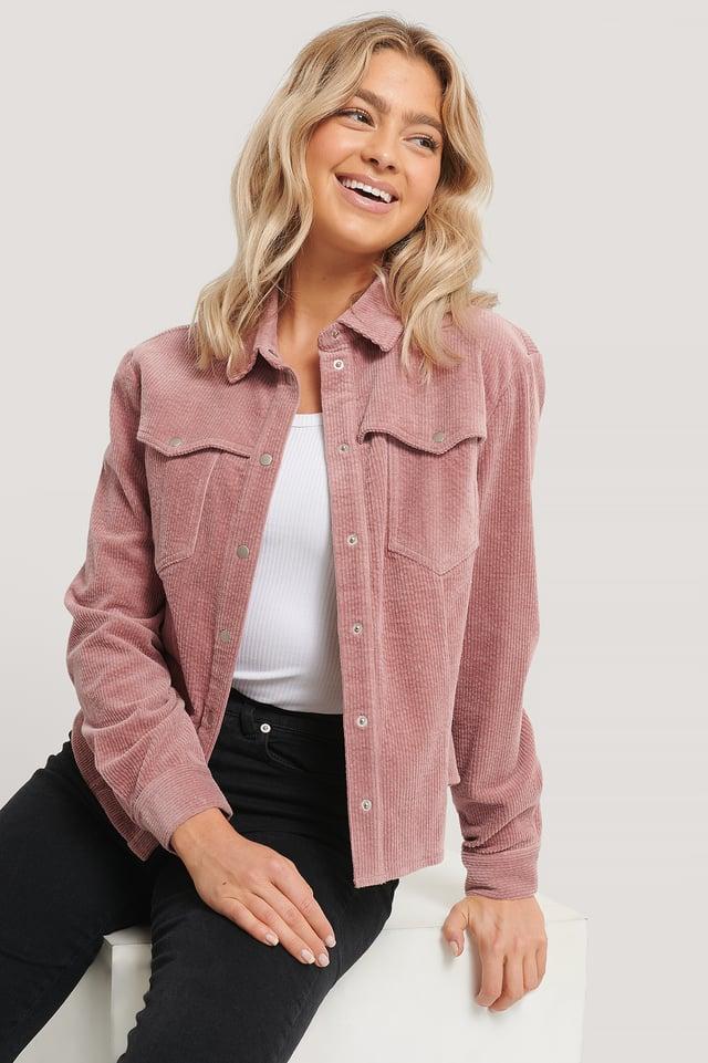 Dusty Pink Manchesterskjorta