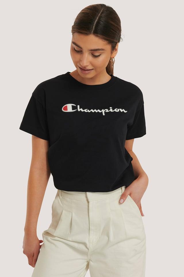 Crewneck T-Shirt Black Beauty