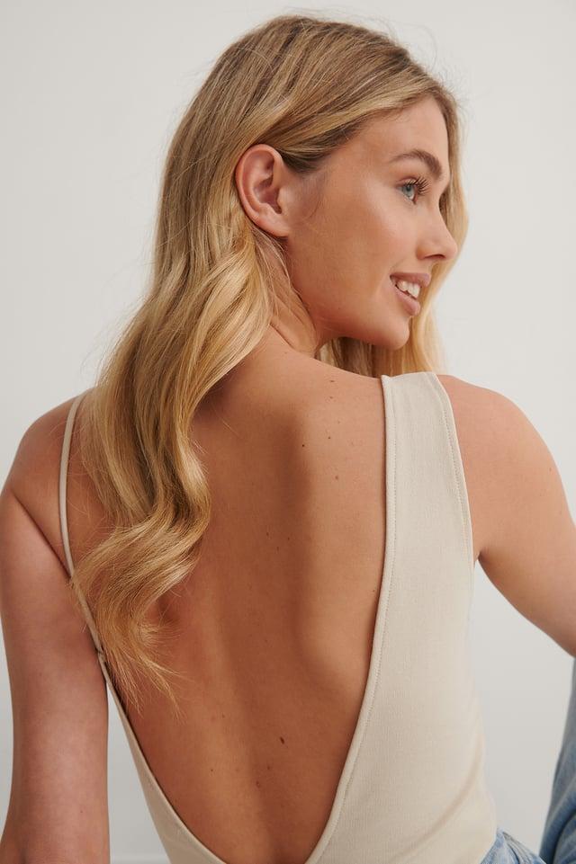 Cream Deep Back Body