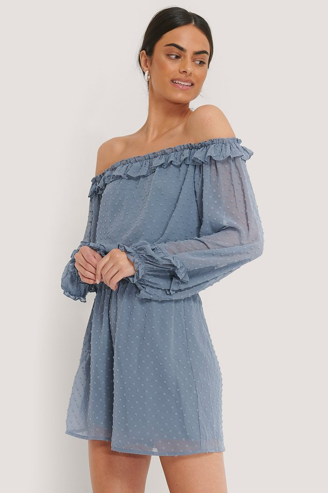 Playsuit Dusty Blue
