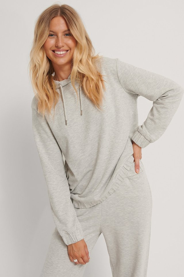 Oversized Hettegenser Grey