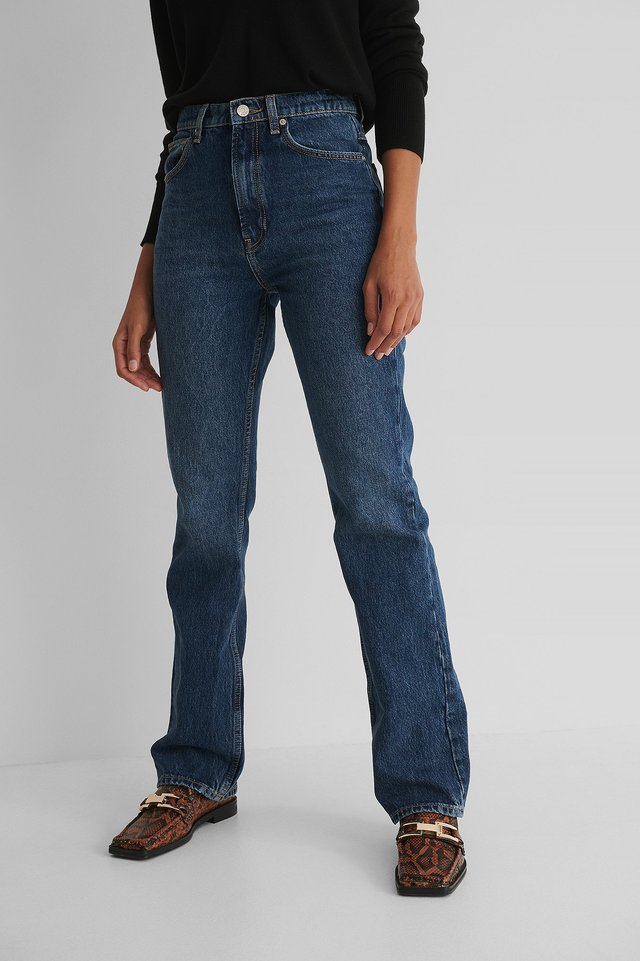 Flare Jeans Blue