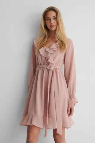 Adobe Rose Vestido Mini Holgado