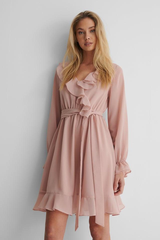 Vestido Mini Holgado Adobe Rose
