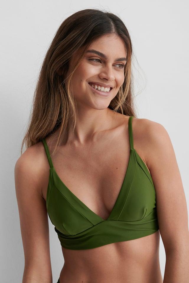Bikini-Oberteil Deep Khaki