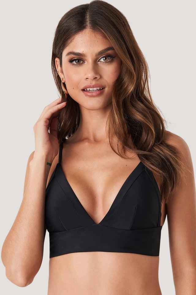 Bikini-Oberteil Black