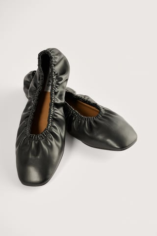 Black Ingerimpelde Ballerina'S