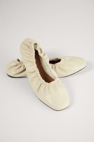 Creme Ingerimpelde Ballerina'S