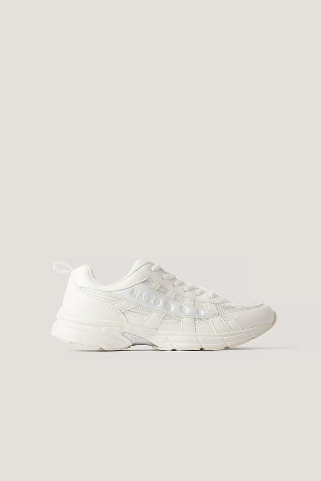 Glozzy Sneaker White/White
