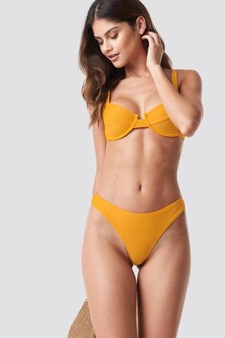 Citrus Högt Skuren Bikinitrosa