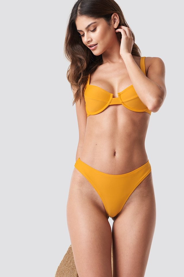 High Cut Bikini Panty Citrus