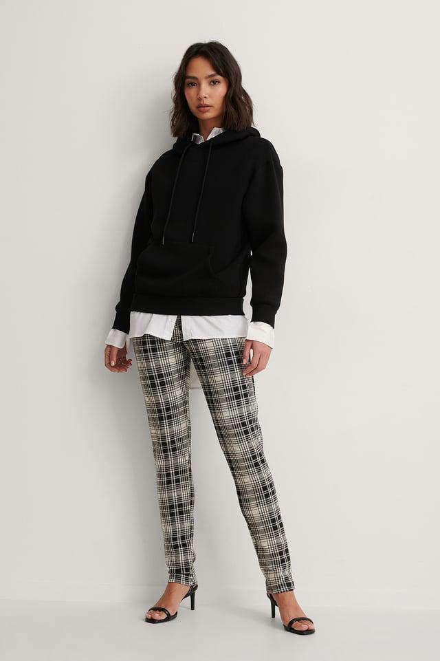 Checkered High Waist Check Leggings