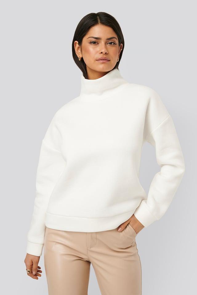 Sweter Golfowy White