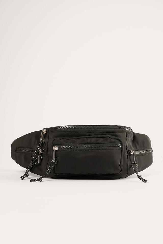 Black Hip Pack Bag