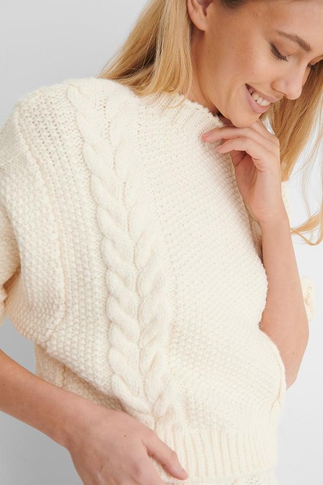Home Sweater Light Beige