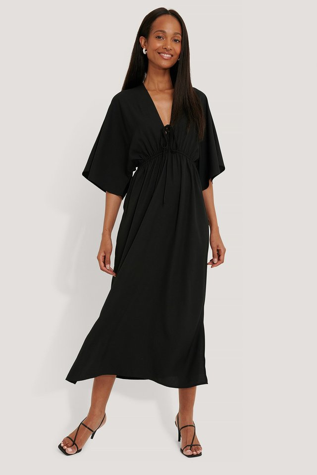Strandkleid Black