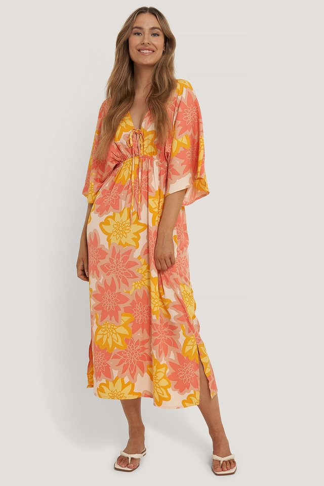 Strandkleid Flower Print