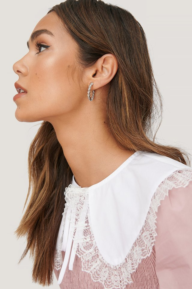 Lace Collar White