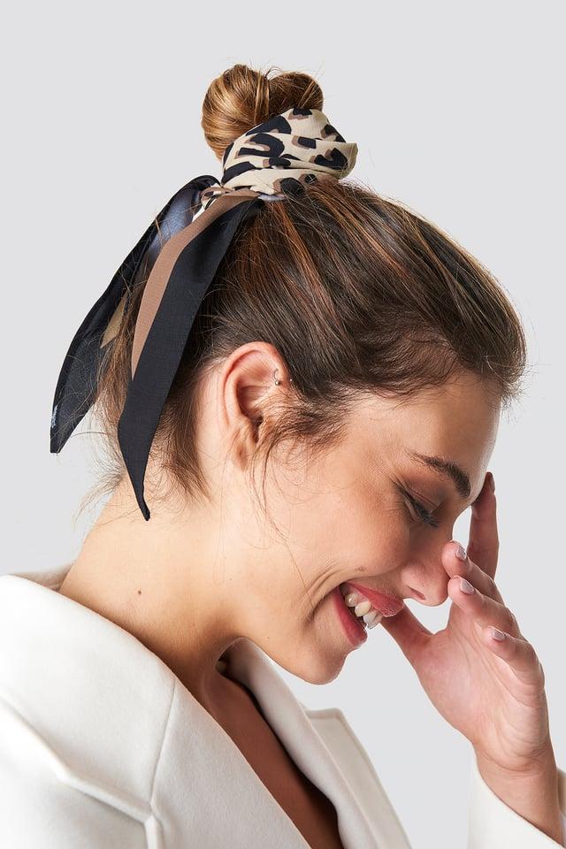 Leo Print Hair Scarf NA-KD Accessories