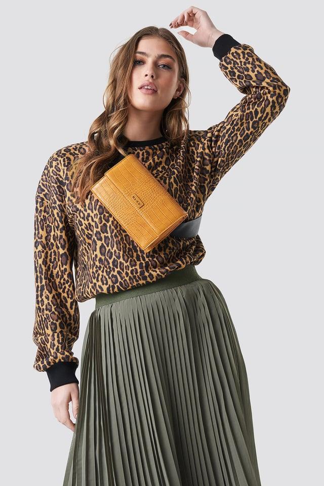 Leopard Oversize Sweatshirt NA-KD