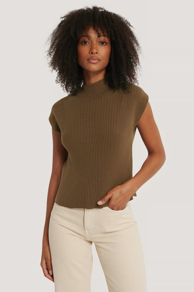 Vest Brown