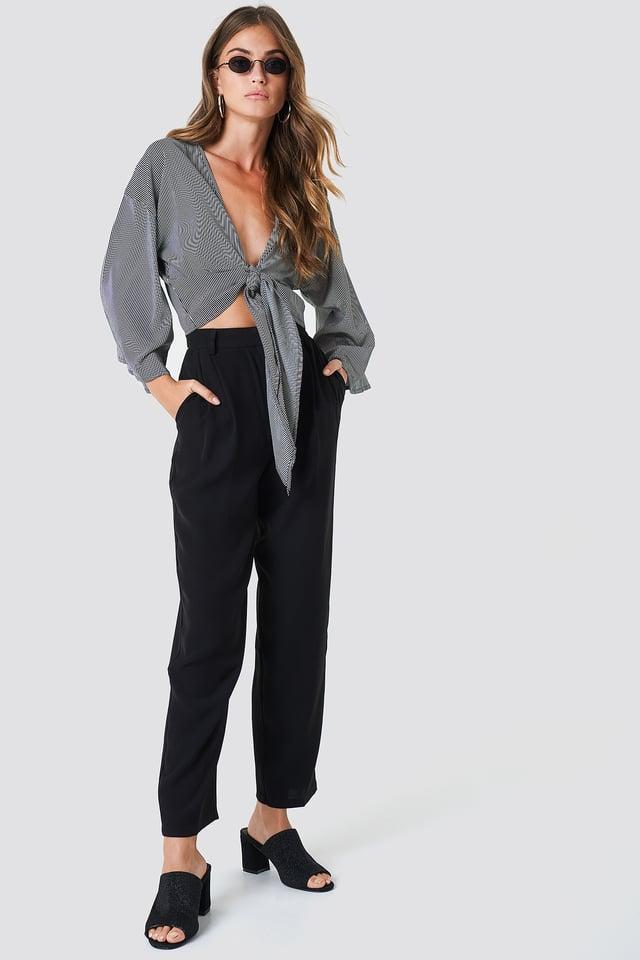 Loose Fit Suit Pants NA-KD Classic