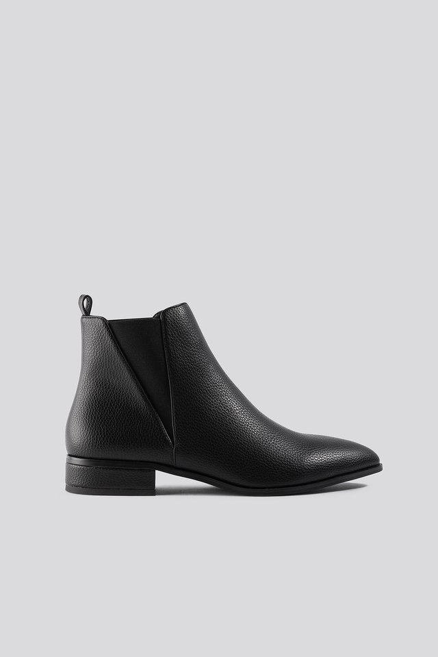 Low Pointy Chelsea Boots NA-KD Shoes