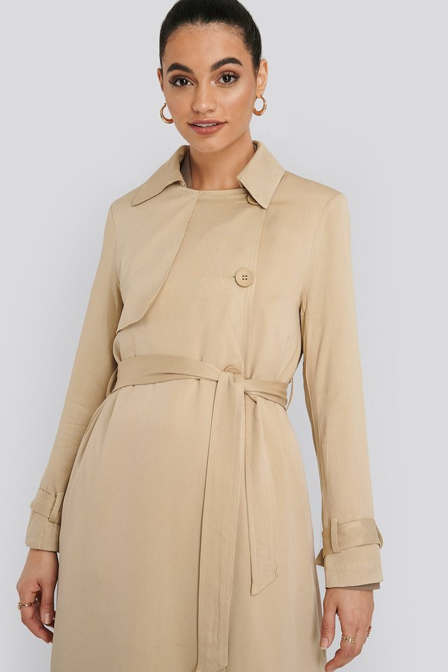 Mac Trench Coat NA-KD Classic