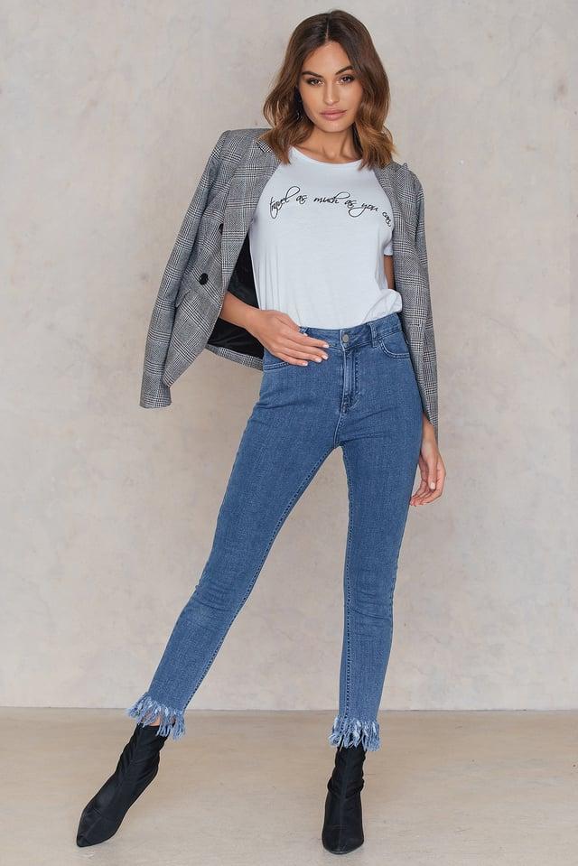 Maren Wolf Jeans Mid Blue