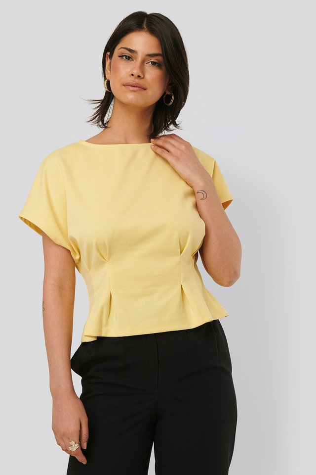 Dusty Yellow Jersey-Topp