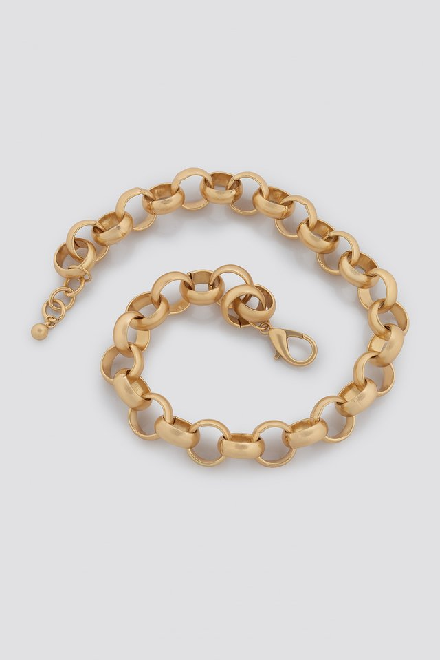 Matte Chunky Chain Necklace NA-KD Accessories