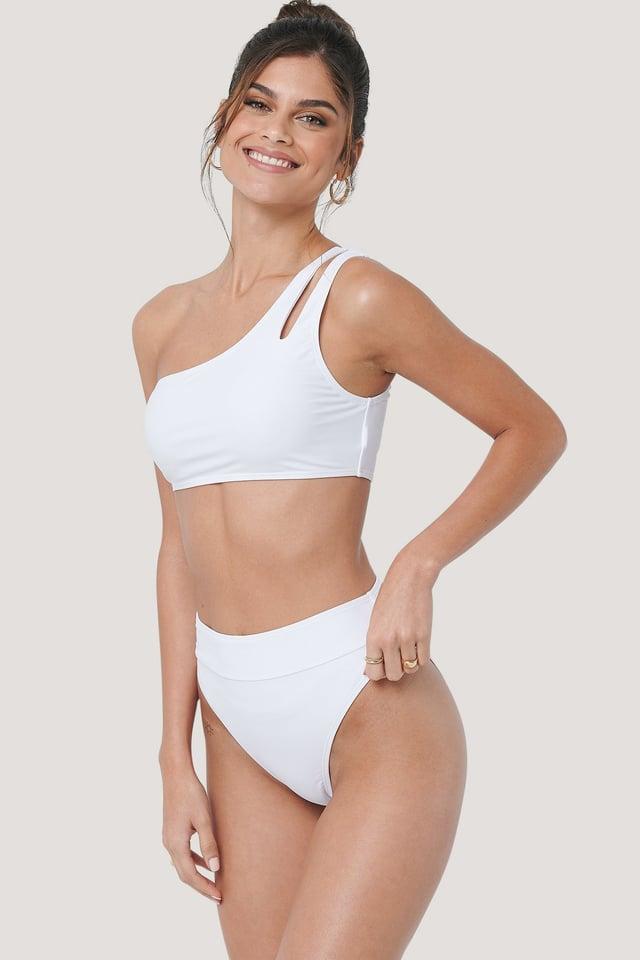 Maxi Highwaist Bikini Panty White
