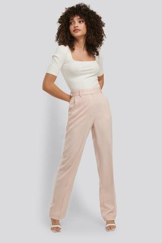 Cream Kostymbyxor